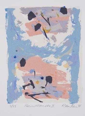 David Rankin 'Headlands II' - Screenprint on paper