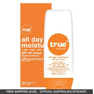 True Solutions All Day Moisture SPF30  Tinted 100ml