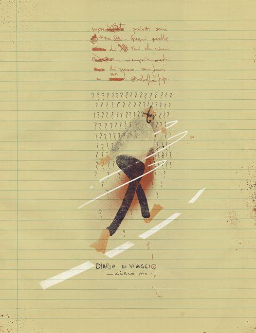 Diario di Viaggio by Florian Contegreco, via Behance #illustration #illustrazione