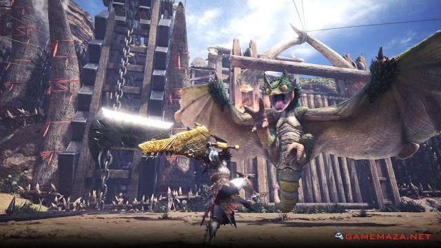 Monster Hunter World Gameplay Screenshot 1 Monster Hunter World Monster Hunter Monster Hunter Wiki