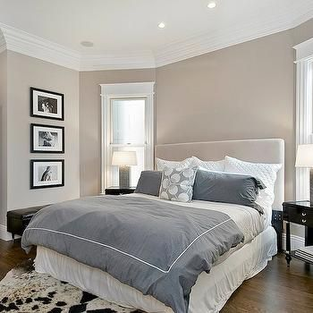 Superior Greige Paint Colors, Transitional, Bedroom, Benjamin Moore Grege Avenue,  Cardea Building Co Part 9
