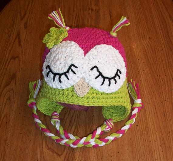 Crochet Baby Owl Hat Pattern Free Pakbit For
