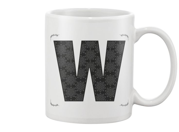 W letter - Mug