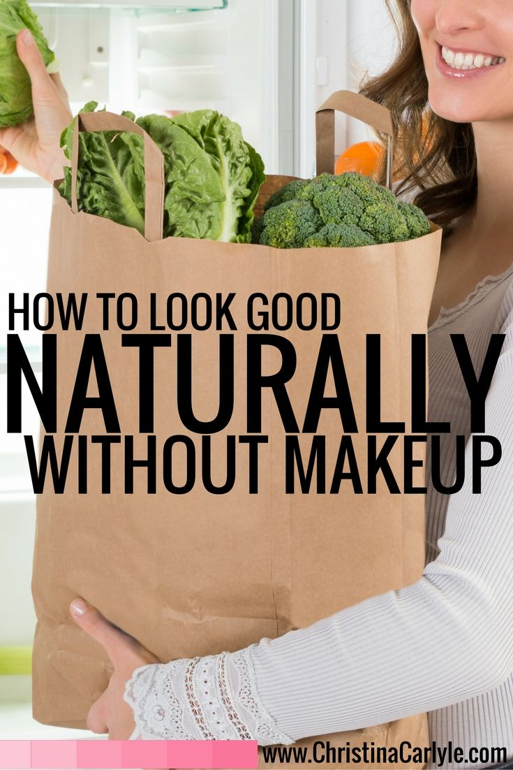 Look Good without Makeup : Natural Beauty Tips : Pinterest : To look ...