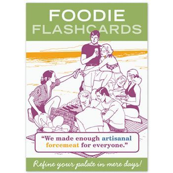 The foodie movement continues to grow in both popularity and scope and learning the patois of the distinguished palate is increasingly important. If you or someone you know likes to eat, it's likely that concepts such as flavor profiles, foams, and food trucks are perplexing. With the humor and classical education techniques of our Foodie Flashcards, you'll learn to speak omnivorously in no time! http://food-trucks-for-sale.com/