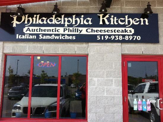Philadelphia Kitchen's Philly Cheesesteaks in Orangeville, Ontario