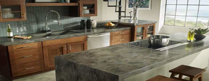Solid Surface Alternative More Affordable Kitchen Countertop Resurfacing Corian Kitchen Countertops Outdoor Kitchen Countertops Corian Countertops