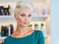 Вечерняя укладка для коротких волос - видео - мастер-класс
