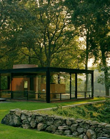 The Philip Johnson Glass House In New Canaan, Conn., Was Designed In 1949  By Architect Philip Johnson As His Own Residence And Is Known For Its  Innovative ...