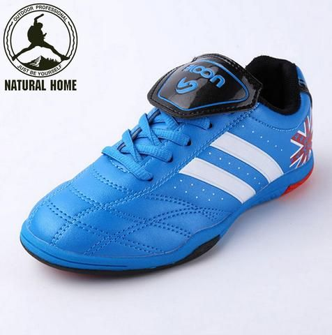 [NaturalHome] Brand Professional Indoor Football Boots Teenagers Training TF Turf Soccer Boot Shoes Children Kids Shoes Sneakers