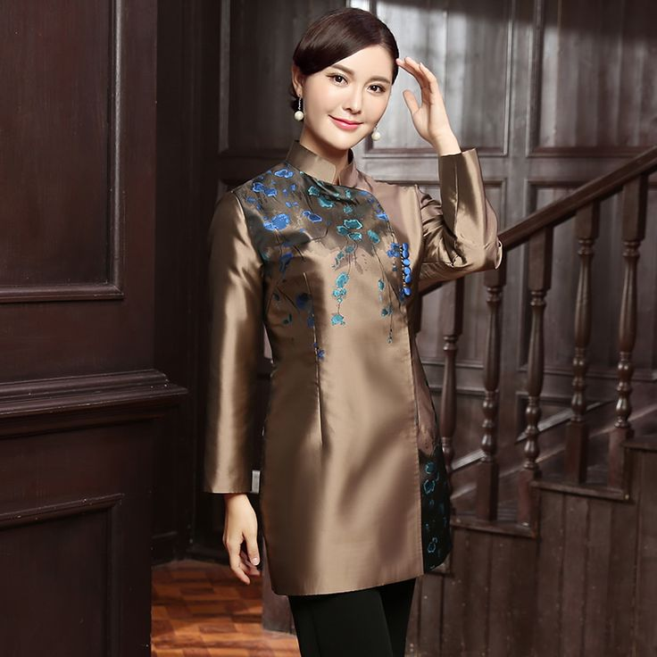 Lovely Modern Mandarin Collar Chinese Qipao Jacket - Chinese Jackets & Coats - Women