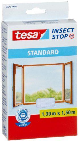 Tesa Insect Stop Moustiquaire Standard pour… http://www.123bazar.fr/produit/tesa-insect-stop-moustiquaire-standard-pour-fenetre-130m-x-150m/