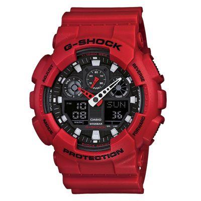 Sporty Boyfriend Gift Ideas: Red Matte G-Shock