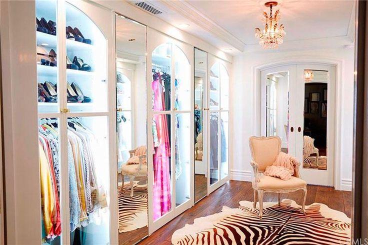 Walk-in closet - Celeb home tour: Lauren Conrad's stylish Beverly Hills penthouse
