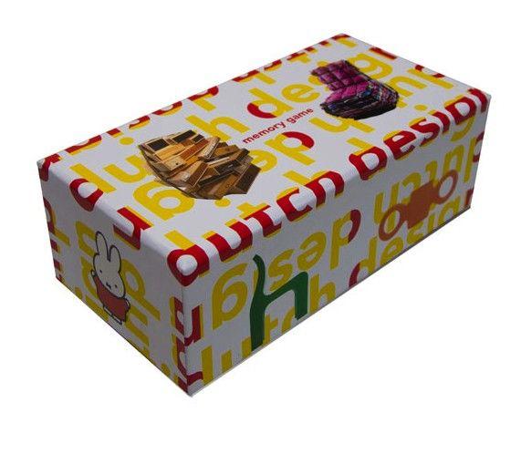 Dutch Design Memory Game - BIS Publishing 9789063692940 | BIS publishing | kaartfanaat