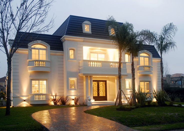 fachadas estilo frances en aspen   Construir casa estilo francés 150 mts2…
