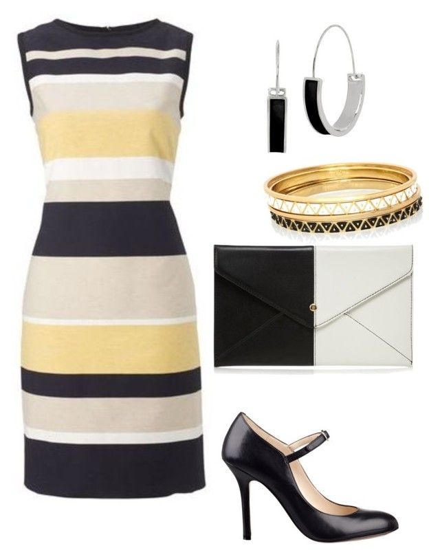 """chics"" by mchlap on Polyvore featuring Nine West, Red Herring, Kenneth Cole and Rose Pierre"