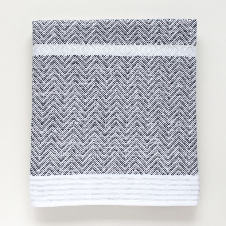 Individually woven in the Mungo mill, where they strive for quality, authenticity, transparency and sustainability, these high quality flat weave towels are a t
