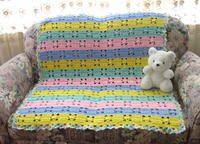 Hushabye Baby Blanket Crochet Pattern