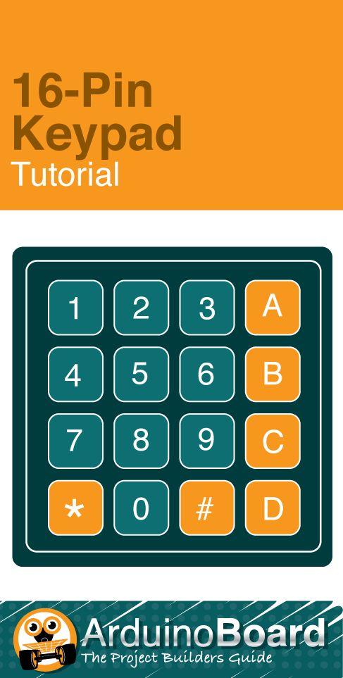 16-Pin Keypad Tutorial :: Arduino Tutorial - CLICK HERE for tutorial http://arduino-board.com/tutorials/keypad (Scheduled via TrafficWonker.com)