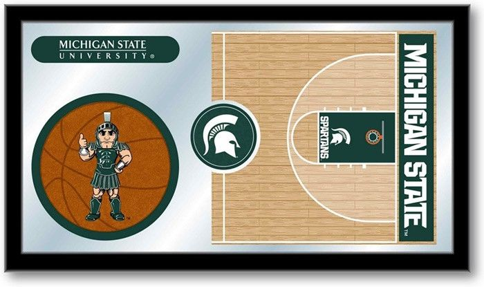 Michigan State Spartans Basketball Team Sports Mirror at SportsFansPlus.com. Visit website for details!