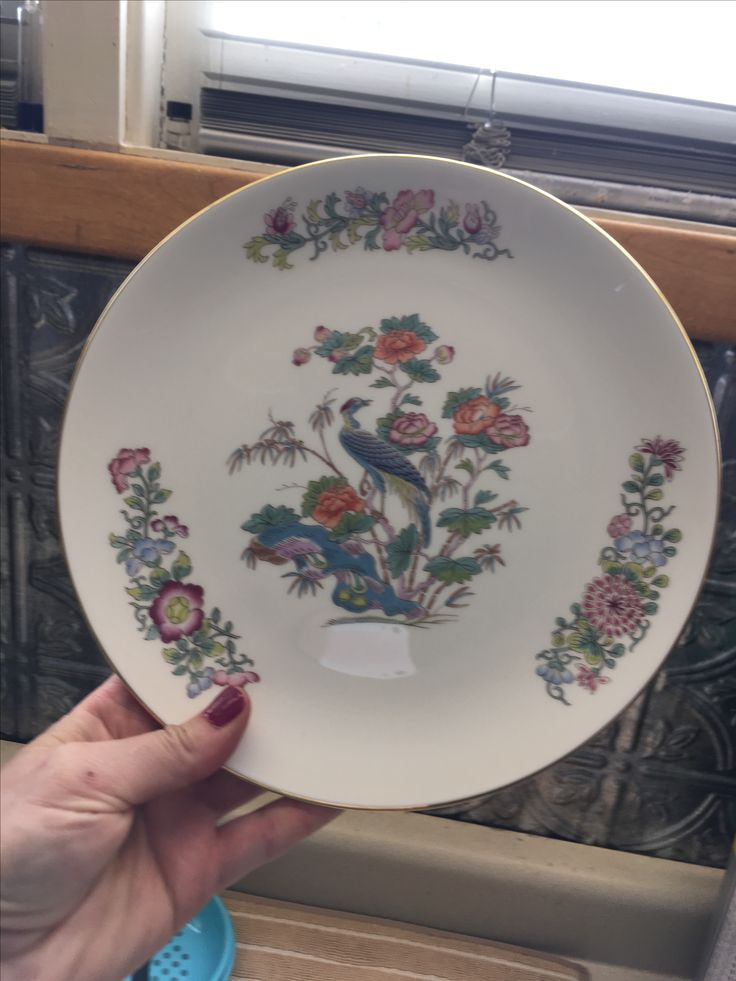 Modern plate, Goodwill Industries either $6 or $8