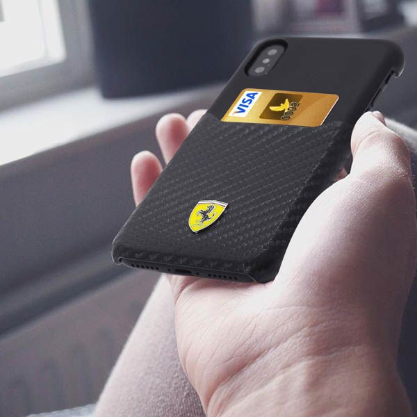iphone x coque ferrari