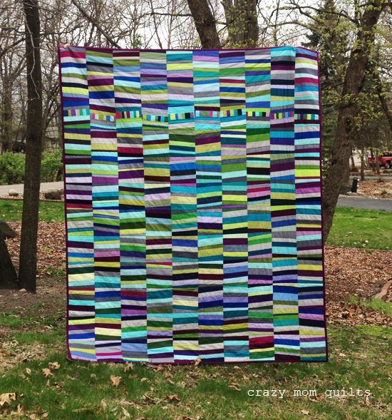 crazy mom quilts: slopes quilt