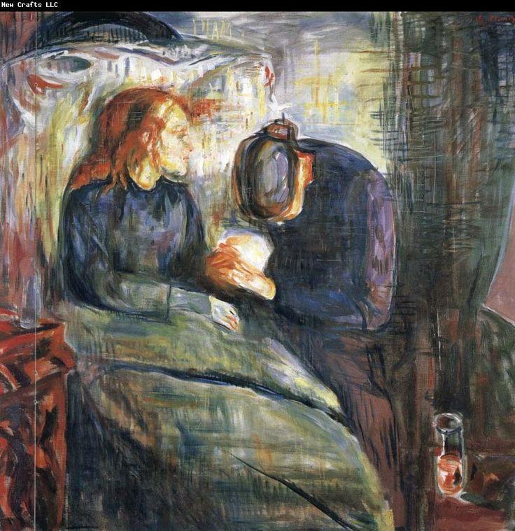 Edvard Munch The Sick girl