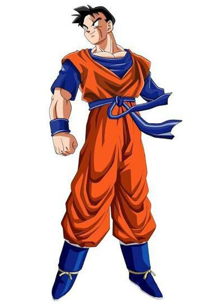 Gohan - Futuro De Trunks  Dragon Ball Z, Dragon Ball, Goku