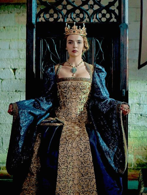 "edwardslovelyelizabeth:  ""Jodie Comer as Queen Elizabeth of York in ""The White Princess"" (2017)  """