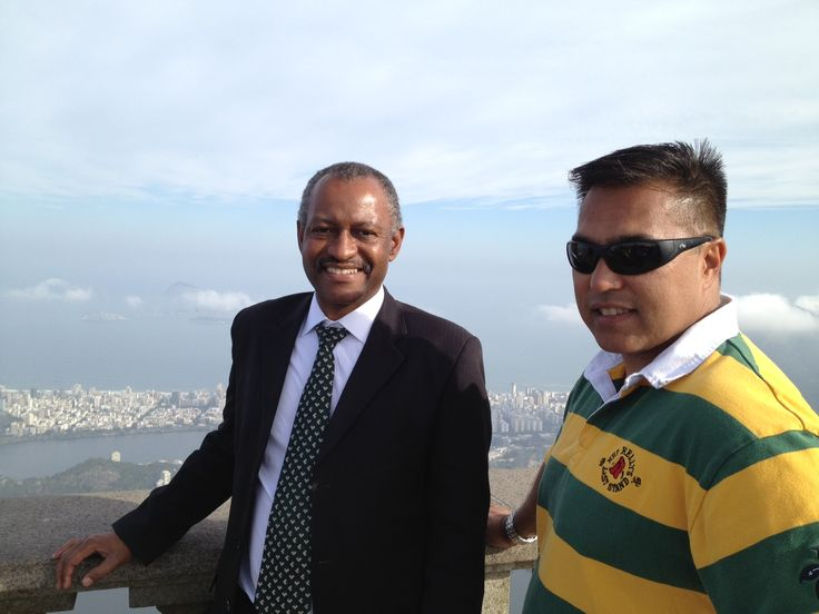 VP, Fred Alejo with HQO's host in Brazil, Carlos.