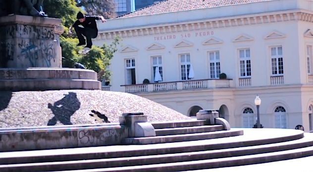 Luan Oliveira Flip x Matriz Boardshop footage | Skateboarding News ...