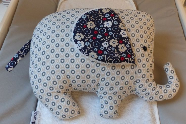 Peluche grand éléphant doublée polaire anallergique : Jeux, peluches, doudous par choujunior