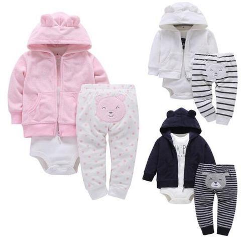 9e9ce65aaa6e Newborn Clothes 2018 Autumn Winter Baby Boys Clothes Set Coat+ ...