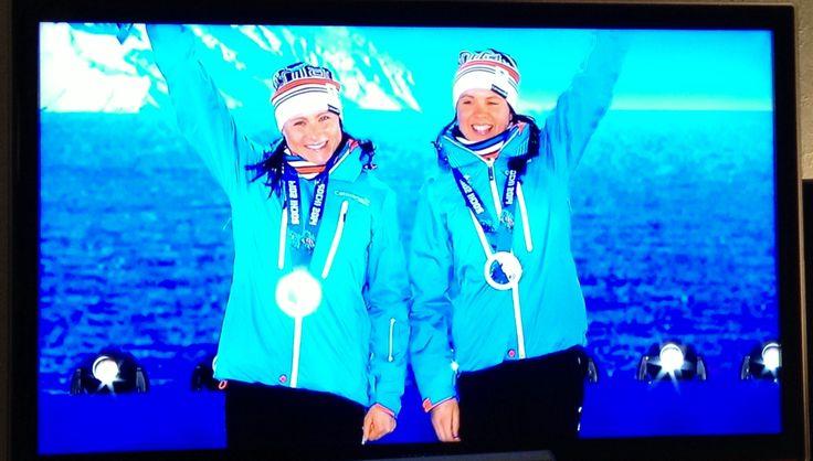 Hopeaa Sotshi2014 - Kerttu ja Anna-Kaisa