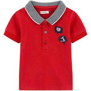 IKKS Nautical Theme Pique Polo Baby Toddler Red #fashion #baby #cute #summer