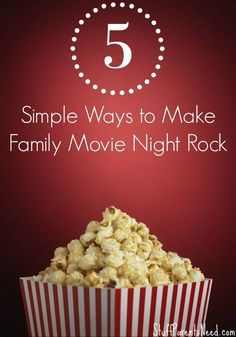 Fun family night activities can go way beyond another night of just Netflix. Here are 5 simple ideas to up your game while still getting to relax a bit!