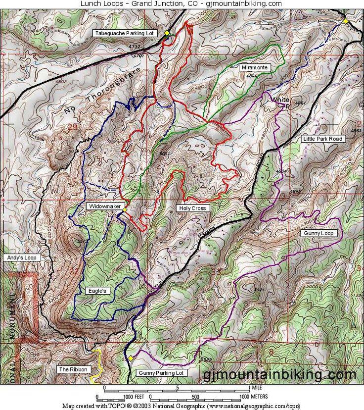 Grand Junction Mountian Bike Rides -- gjmountainbiking.com
