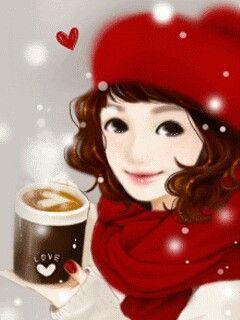 So Cute !! knowyourgrinder.com #coffee #coffeecup #drinkcoffee #grinders #cute #sweetcoffee