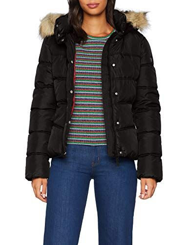 b68e219187a7ac Q/S designed by - s.Oliver Women's 46.810.51.4901 Jacket (Black 9999) Medium