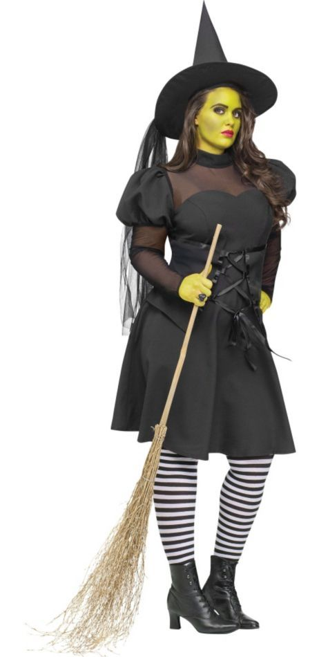 Adult West Witch Costume Plus Size - Party City | Holidays ...