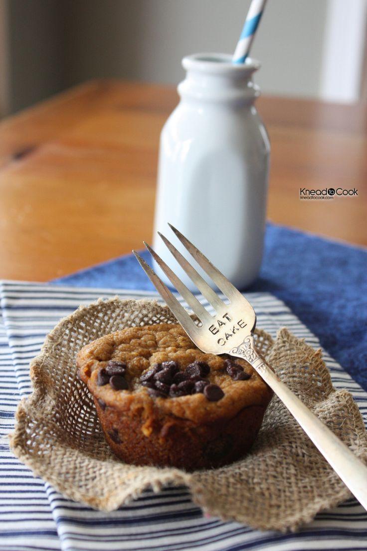 Healthier Pumpkin Chobani Muffins. Don't mind if we do!