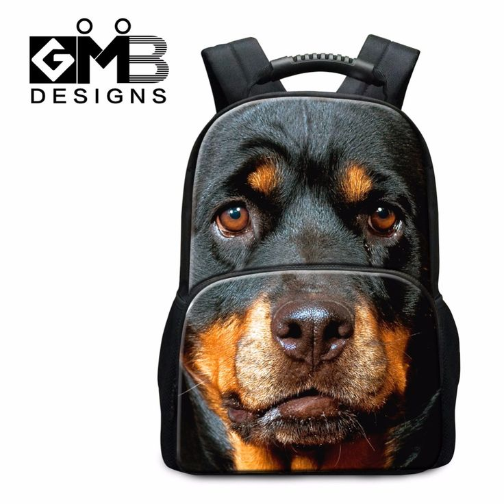 Teenagers School Bags Animal Dog Pattern Cool Backpacks for Boys Wolf Schoolbags Book Bags for Girls Tiger Owl Backpacking Bags