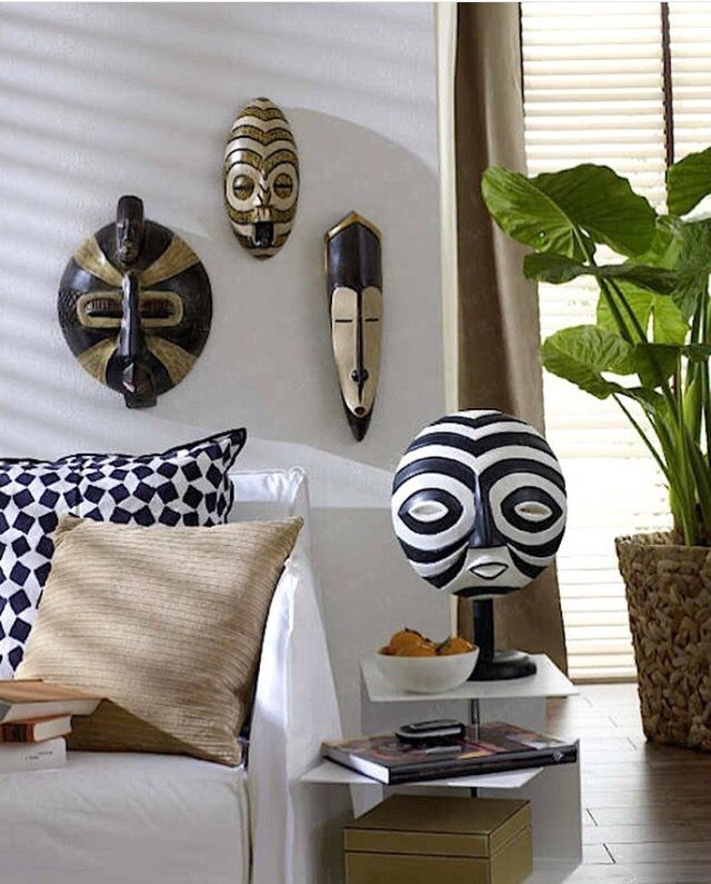African wall masks These Masks have a