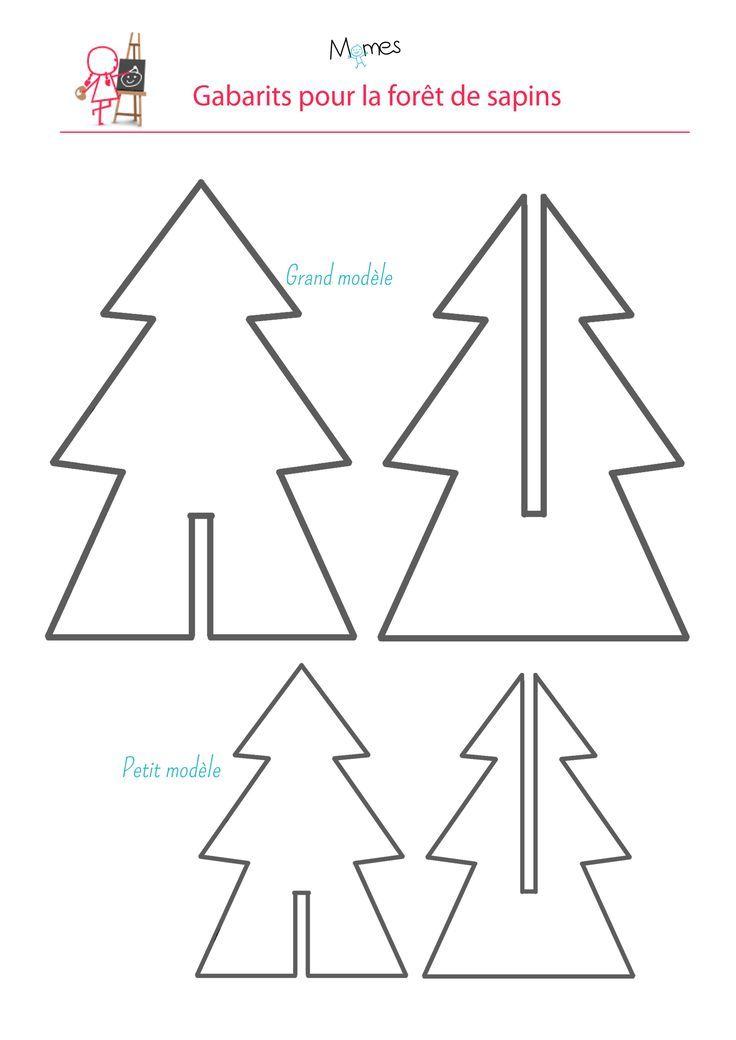 Vorlagen Weihnachtsbasteln.Vorlage Tanne Karton Zum Ausdrucken Ausdrucken Karton Tanne