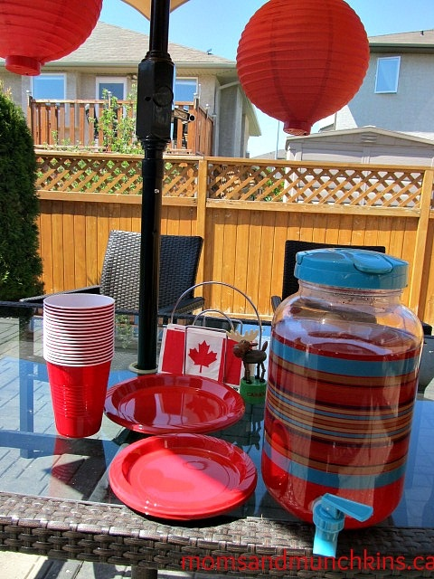 Canada Day party ideas including a free printable Canada trivia game!