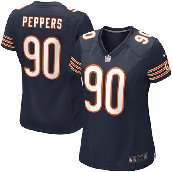 Julius Peppers Chicago Bears Nike Girls Youth Game Jersey - Navy Blue - $17.99