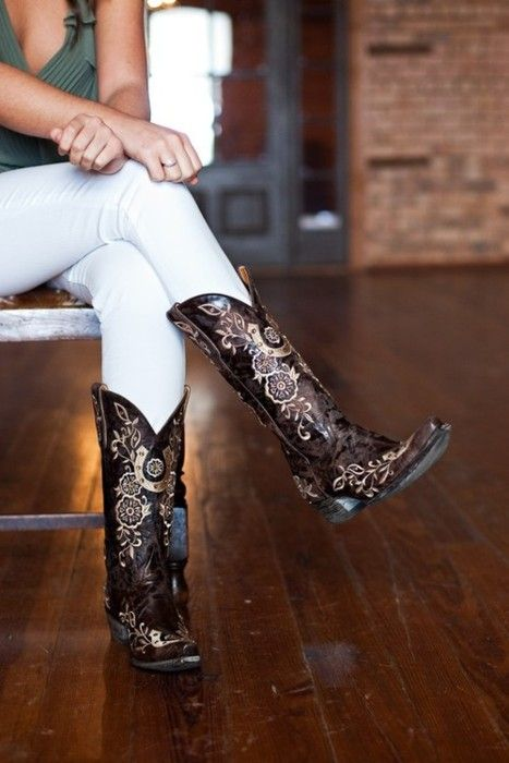 Love them boots!