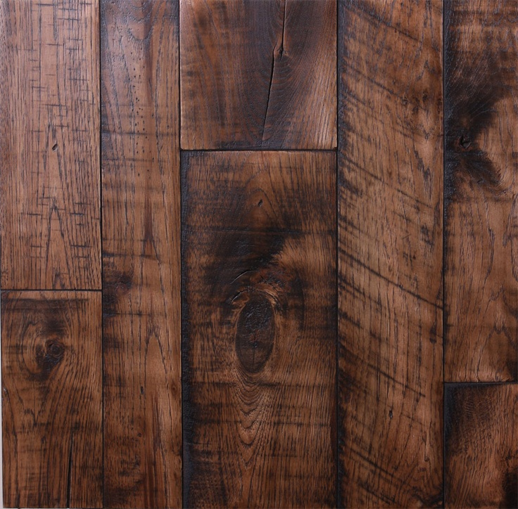 10 best images about flooring on pinterest hickory for Wood floor ideas rustic